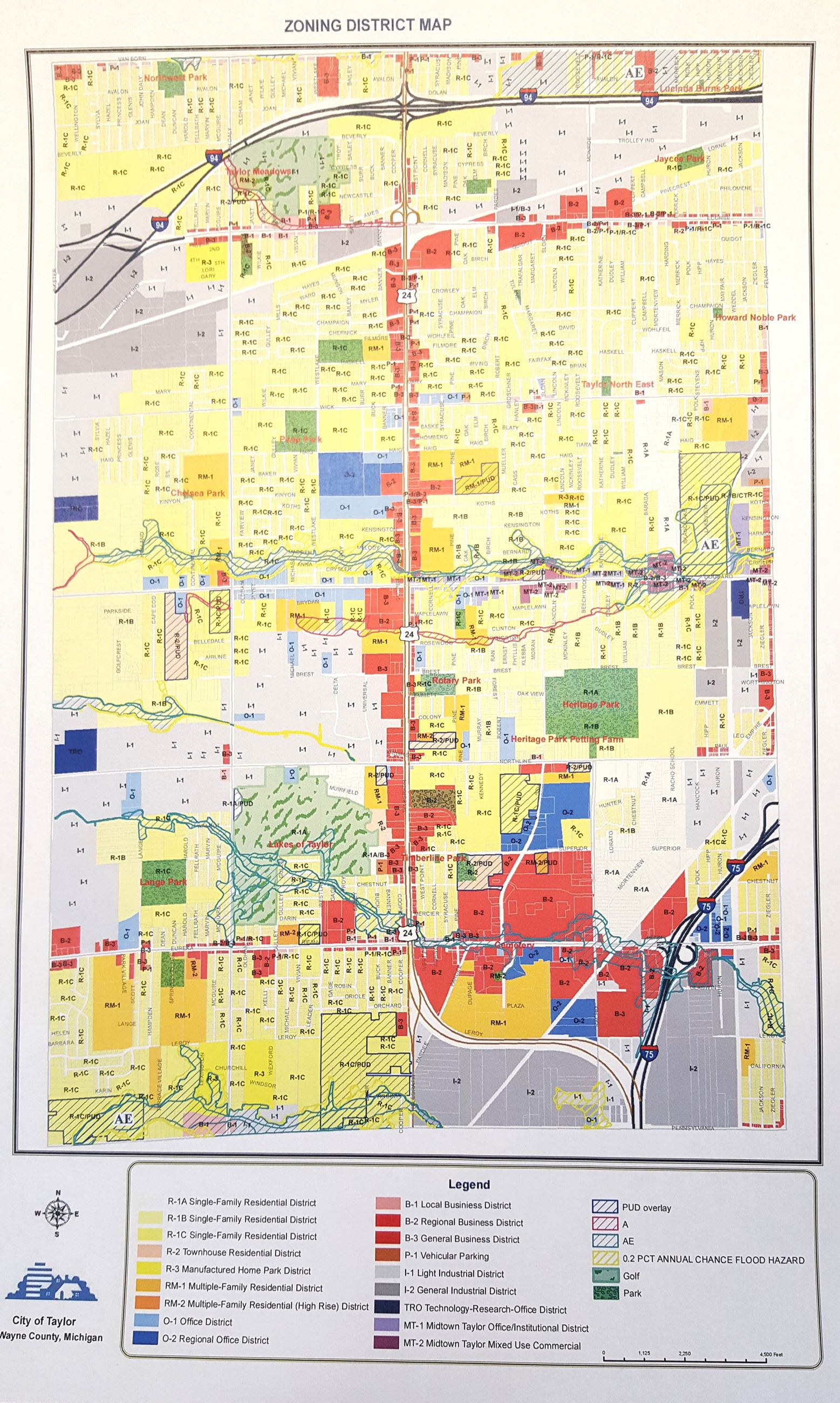 Updated Zoning Map