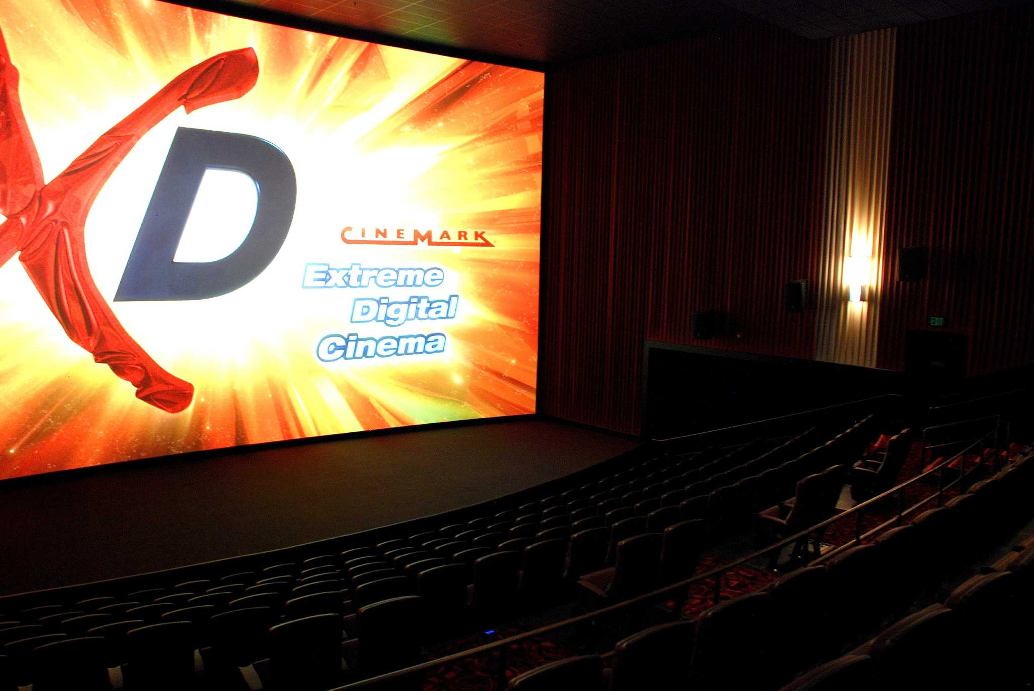 Inside Cinemark Theater