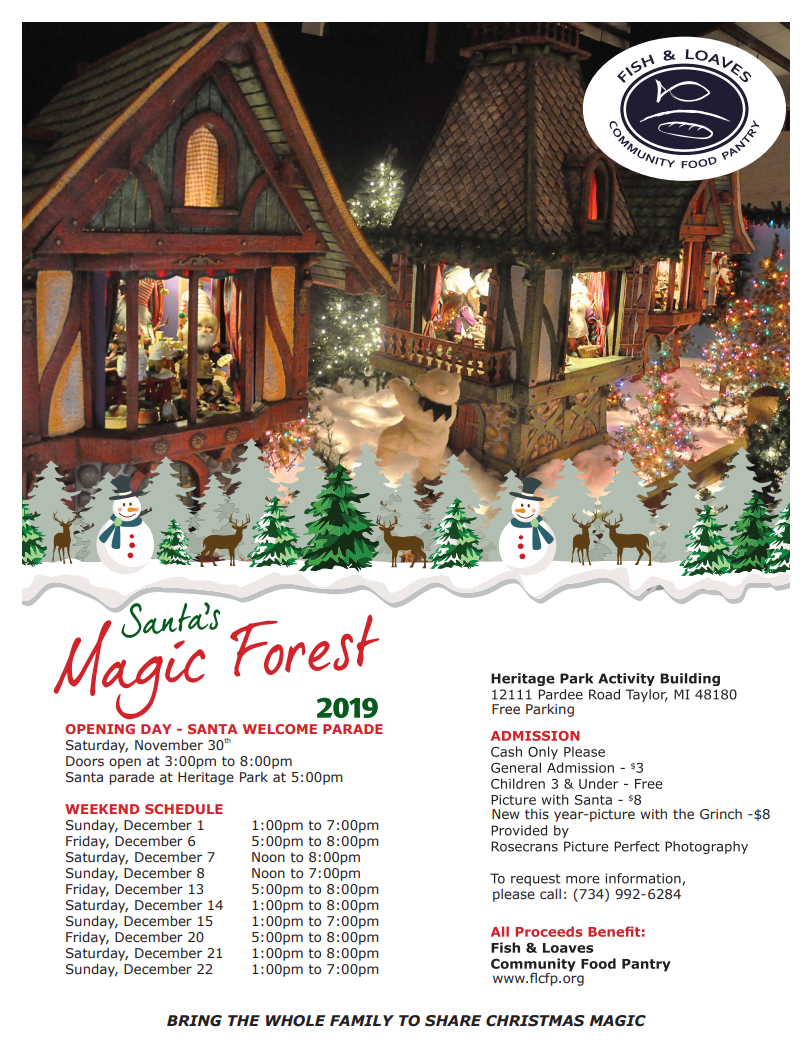 Santas Magic Forest